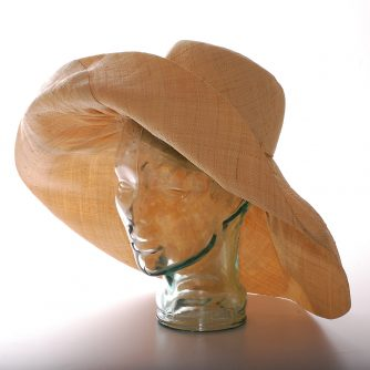 African straw hat from Madagascar