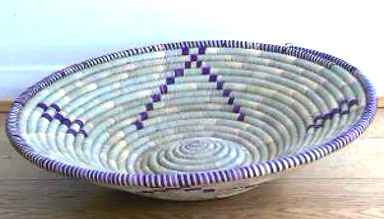 African fruit basket from Ugandan
